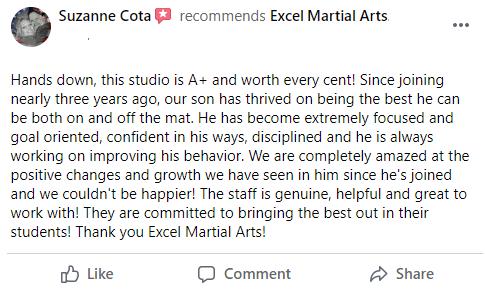 1, Excel Martial Arts Woodbury MN
